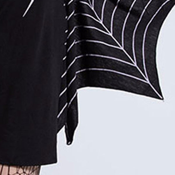 Clothing, Shoes & Accessories/Women's Clothing/Dresses---Autumn Hot 's Slim Dress Vestido long Sleeve dress Women's Halloween Play Party Costume Spider Web Print