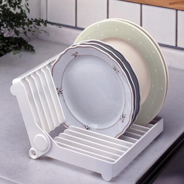 Kitchen accessories spiral folding board drainage drying rack