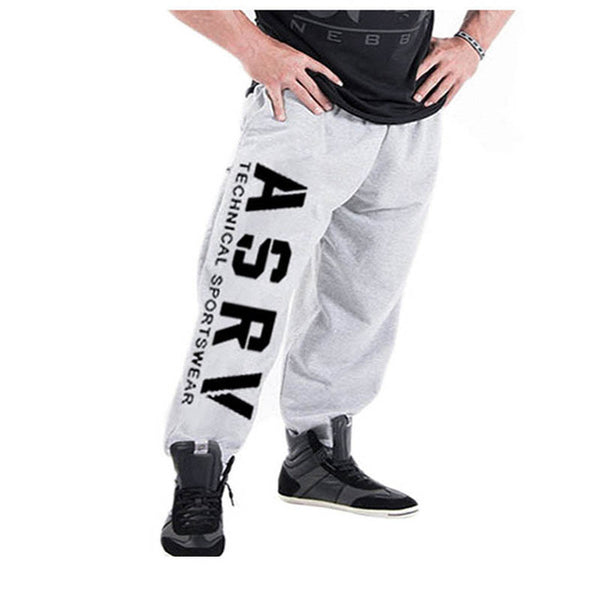 Casual pants fitness men's sports tight trousers