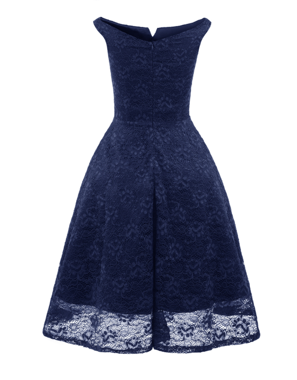 New Women's V-neck Lace Dress
