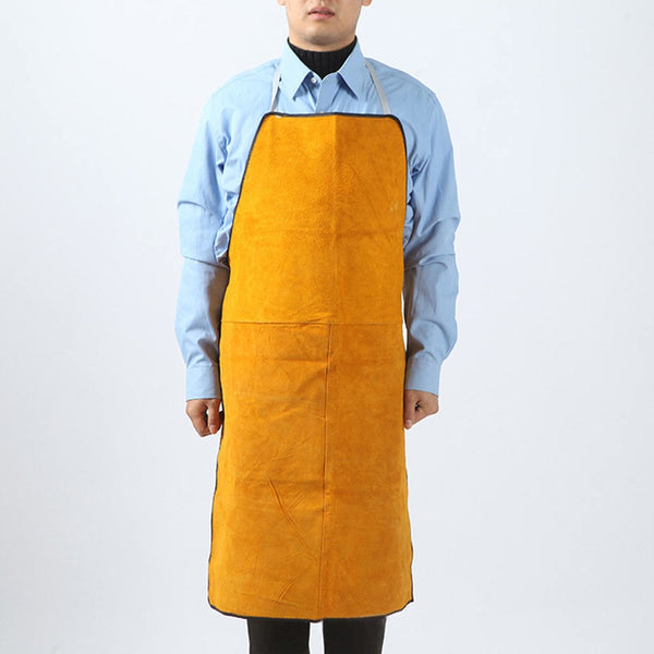 Thickened electric wood wear-resistant anti-scalding fireproof leather welding protective apron