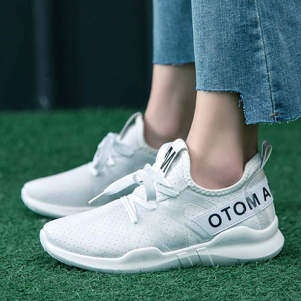 Women's casual shoes, comfortable mesh vulcanized shoes, lightweight sneakers