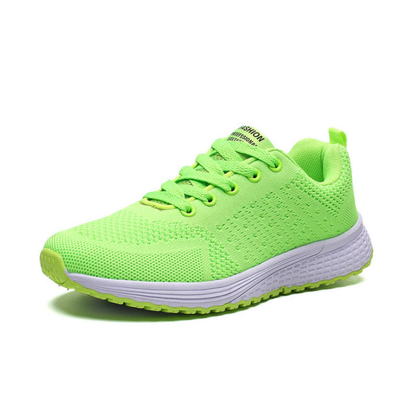 Women's casual shoes fashion breathable solid color sneakers