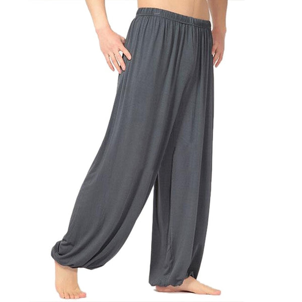 Yoga pants loose bloom pants men