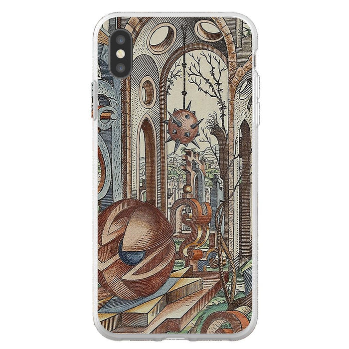 Geometric Jungle schoollistdone.com Premium Flexi Case iPhone XS Max