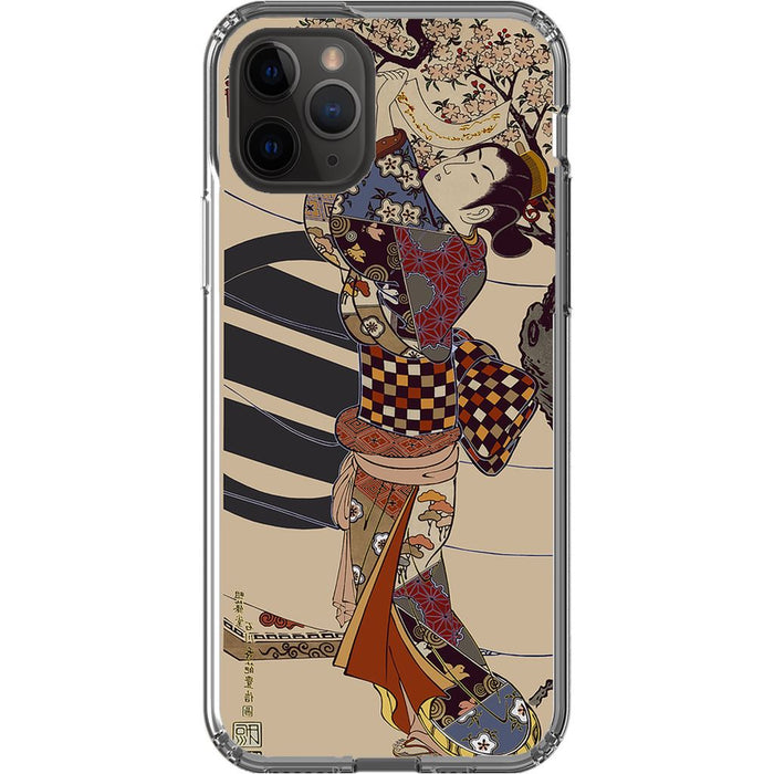 Grand Geisha Premium Phone Case schoollistdone.com Premium Glossy Clear Case iPhone 11