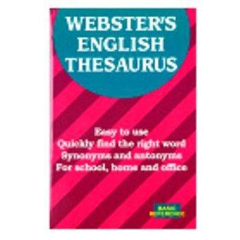 Webster's English Thesaurus schoollistdone.com