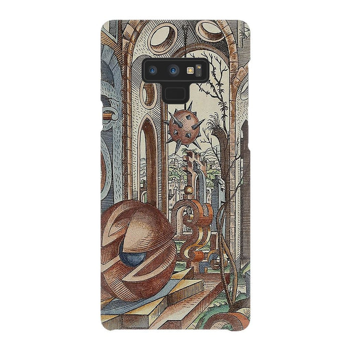 Geometric Jungle schoollistdone.com Premium Glossy Snap Case Samsung Galaxy Note 9