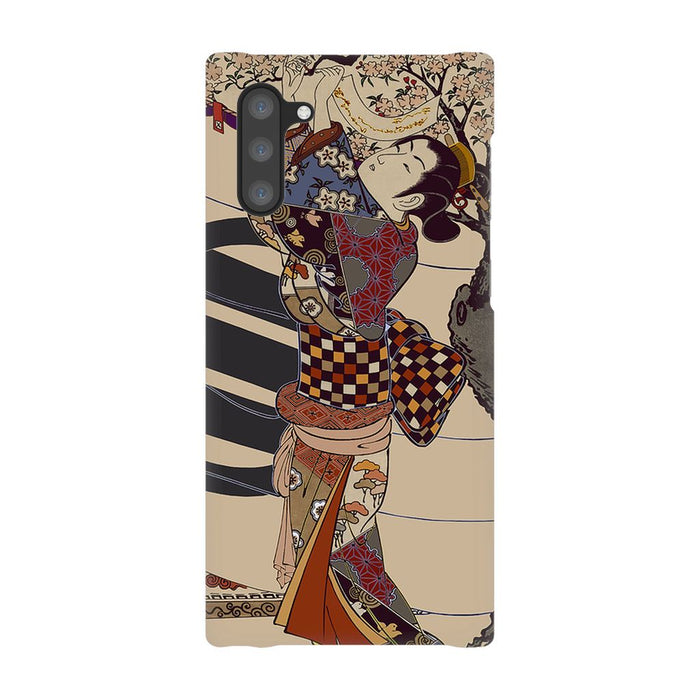 Grand Geisha Premium Phone Case schoollistdone.com Premium Glossy Snap Case Samsung Galaxy Note 10
