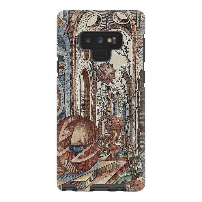 Geometric Jungle schoollistdone.com Premium Glossy Tough Case Samsung Galaxy Note 9