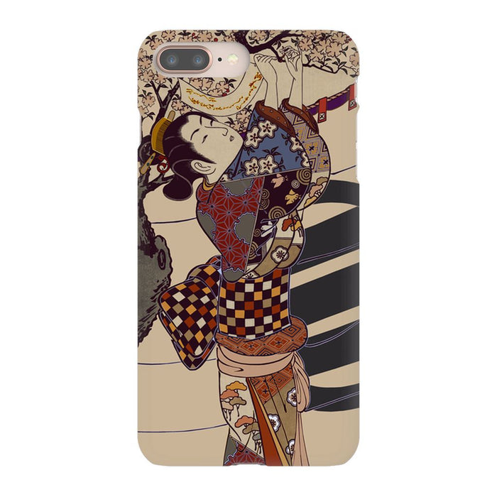 Grand Geisha Premium Phone Case schoollistdone.com Premium Glossy Snap Case iPhone 8 Plus
