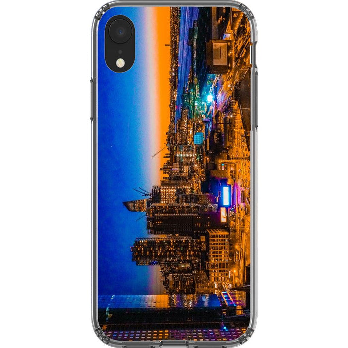 Electric High Life schoollistdone.com Premium Glossy Clear Case iPhone XR