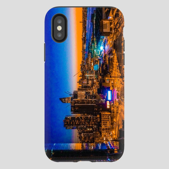 Electric High Life schoollistdone.com Premium Glossy Tough Case iPhone XS
