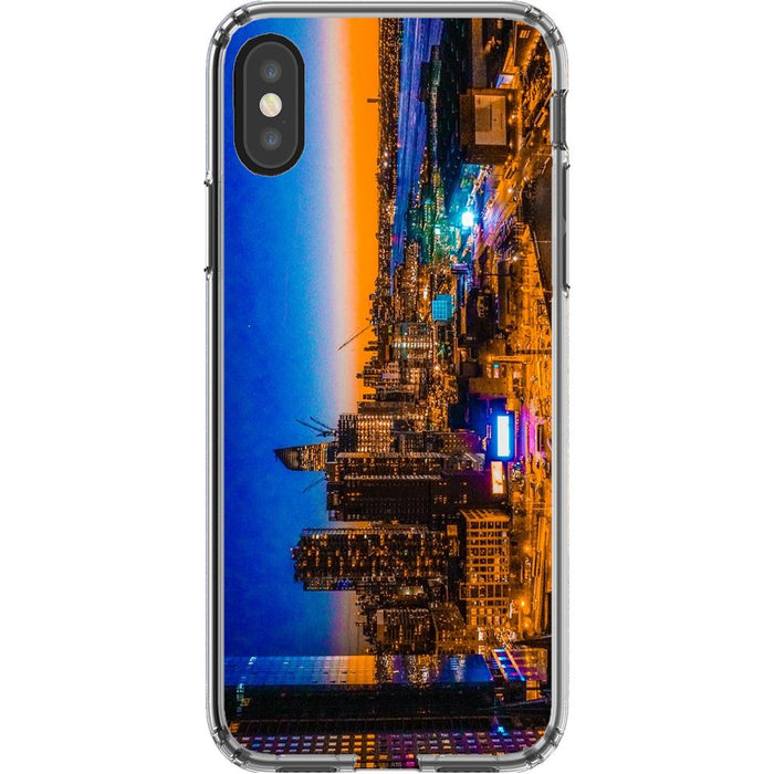 Electric High Life schoollistdone.com Premium Glossy Clear Case iPhone XS