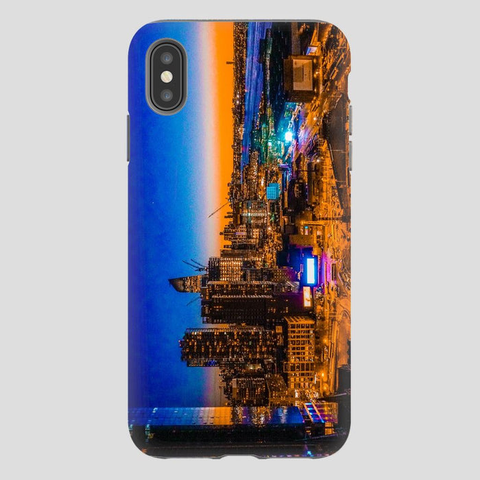 Electric High Life schoollistdone.com Premium Glossy Tough Case iPhone XS Max