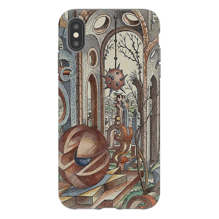 Geometric Jungle schoollistdone.com Premium Glossy Tough Case iPhone XS Max