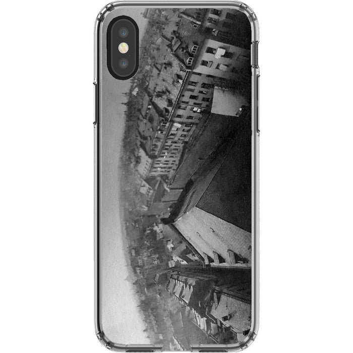 TPP schoollistdone.com Premium Glossy Clear Case iPhone XS