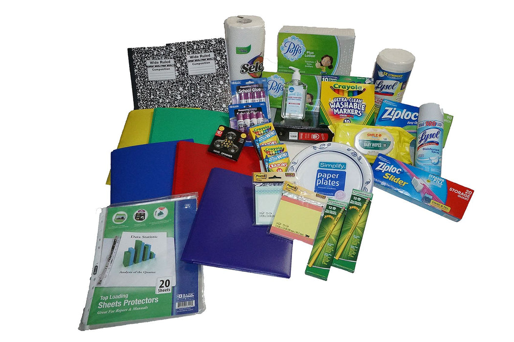 Kindergarten School Supplies Pack schoollistdone.com