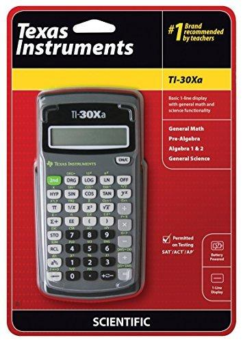 Texas Instruments TI-30Xa Scientific Calculator schoollistdone.com