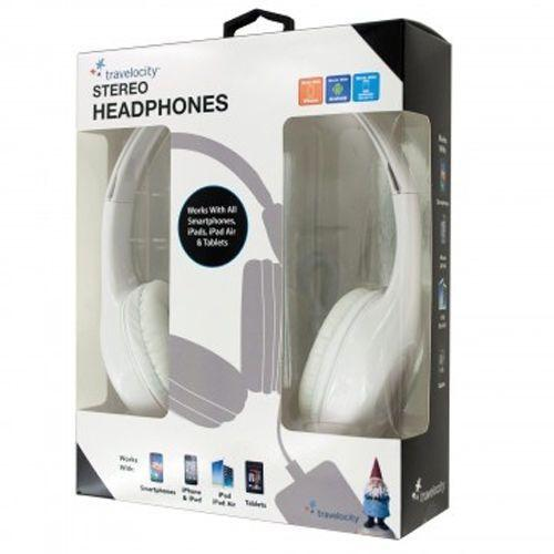 Travelocity Padded Stereo Headphones schoollistdone.com