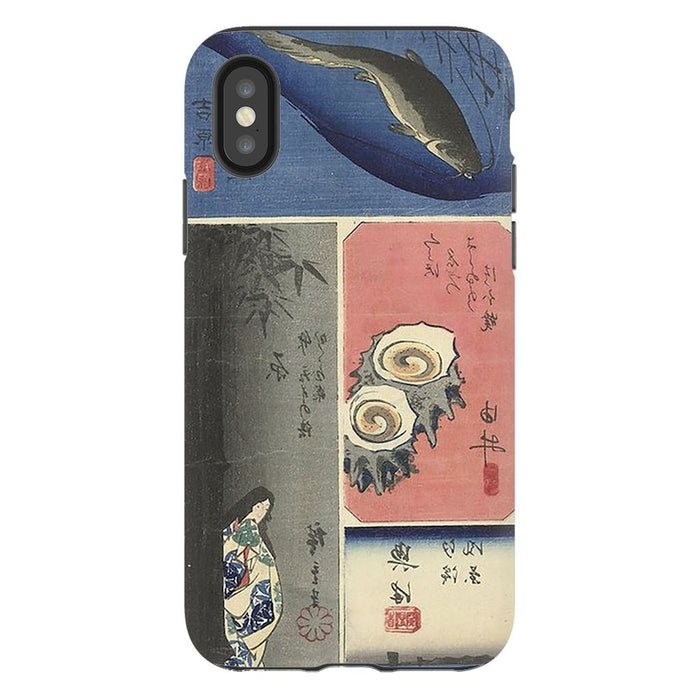 Tokaido schoollistdone.com Premium Glossy Tough Case iPhone XS