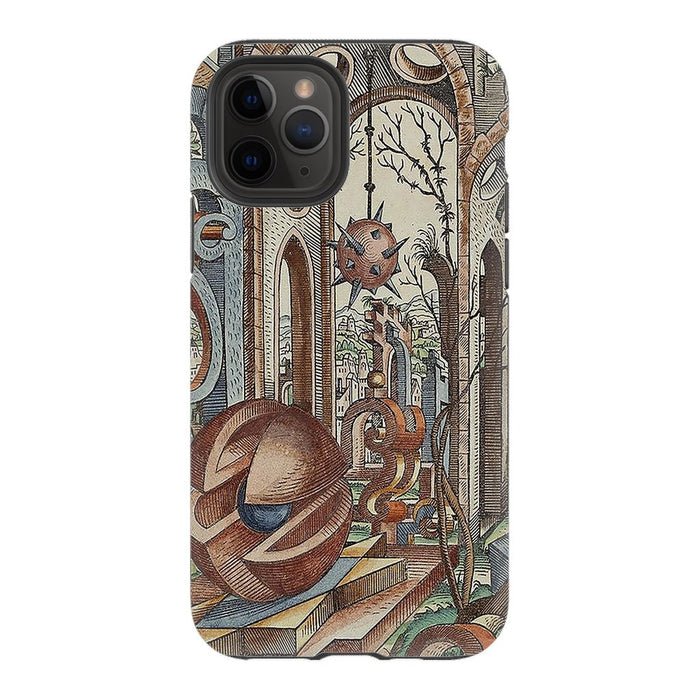 Geometric Jungle schoollistdone.com Premium Glossy Tough Case iPhone 11 Pro