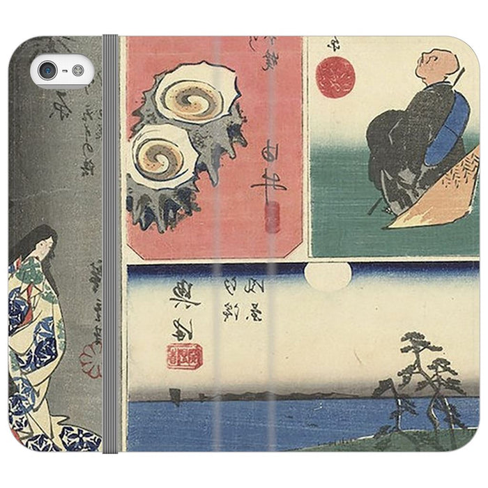 Tokaido schoollistdone.com Premium Folio Wallet Satin Case iPhone SE