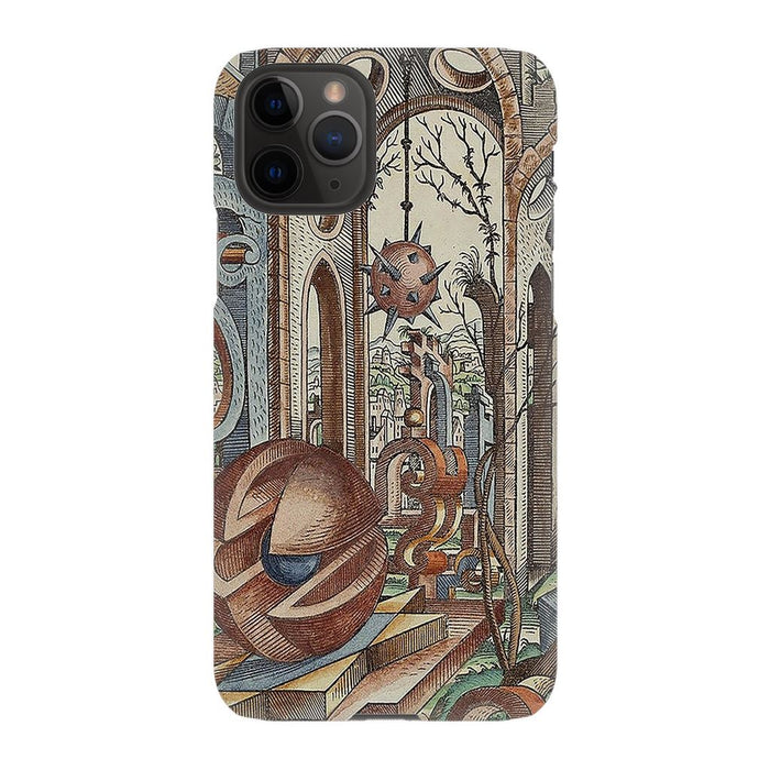 Geometric Jungle schoollistdone.com Premium Matte Snap Case iPhone 11 Pro