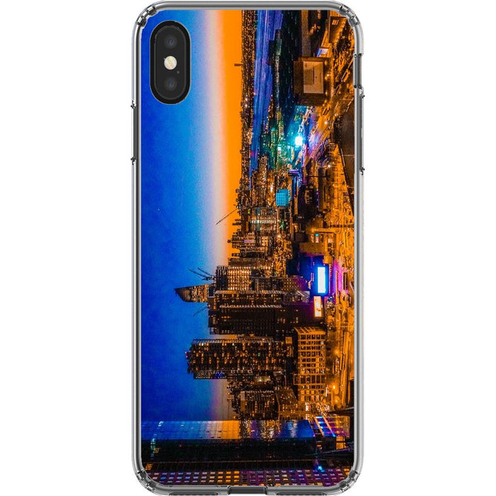 Electric High Life schoollistdone.com Premium Glossy Clear Case iPhone XS Max
