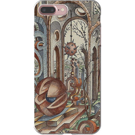 Geometric Jungle schoollistdone.com Premium Flexi Case iPhone 7 Plus