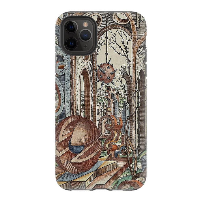 Geometric Jungle schoollistdone.com Premium Glossy Tough Case iPhone 11 Pro Max