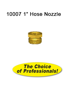 10007 1 in Brass Hose Nozzle