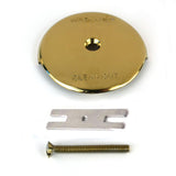 18003 One-Hole Overflow Plate Kit