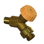 24C-BR Model 24 Wall Faucet CP Inlet, Rough Brass
