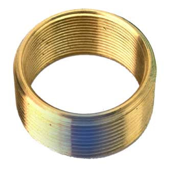 "38102 Brass Bushing - Converts 1.625"" x 16 to 1.8"" X 14 - Blue"