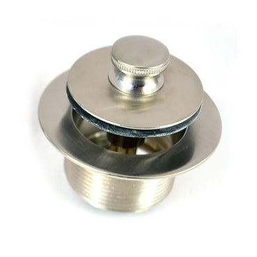 38329-BN PUSH PULL® Tub Closure, 1.865-11.5 x 1.25 - Brushed Nickel