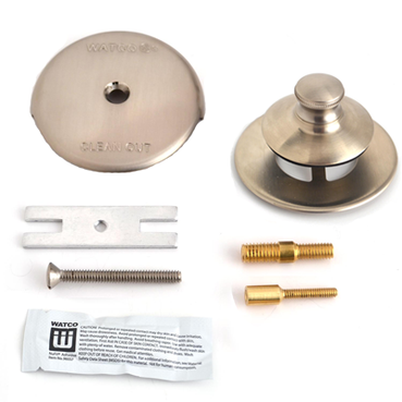 48701-PP-BN-2P Universal NuFit® PP Trim Kit - 3/8-5/16 Combo, #10-24 & Silicone - Brushed Nickel