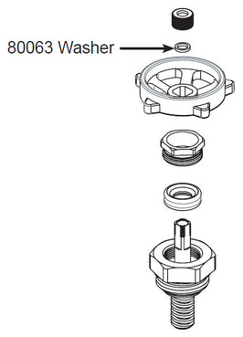 80063 Thermaline® Heater Well Washer