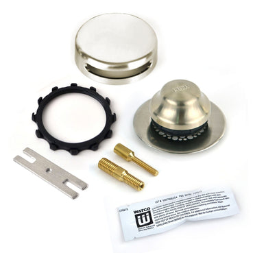 948700-FA-BN-G Innovator Tub Trim Kit - Brushed Nickel With Grid Strainer