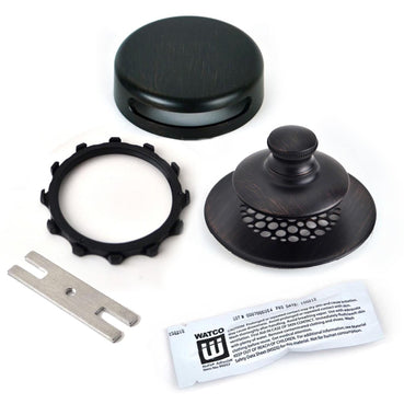 948700-PP-BZ-WB  Innovator Overflow - No Grid Strainer -Bonding Strip - Oil-Rubbed Bronze