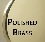 01013PV PUSH PULL® & LT Brass Stopper - Polished Brass