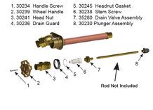 RK-25 Model 25/27 - Faucet Repair Kit