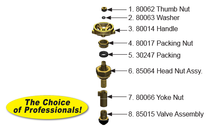 RK-THERM Thermaline® Yard Hydrant Repair Kit