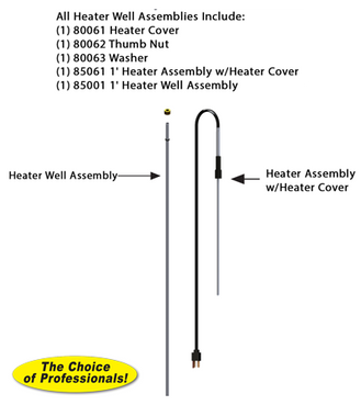 RK-TL-1H 1 Foot Thermaline Heater Assembly Repair Kit