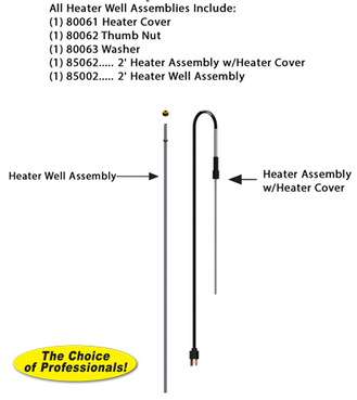 RK-TL-2H 2 Foot Thermaline® Heater Assembly Repair Kit