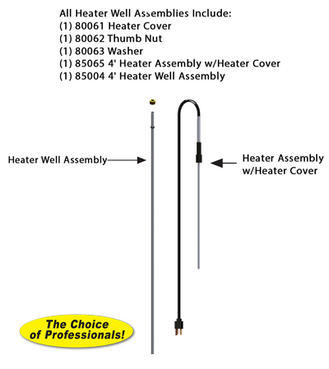 RK-TL-4H 4 Foot Thermaline® Heater Assembly Repair Kit