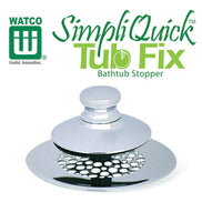 Watco SimpliQuick® Tub Fix Bathtub Stopper