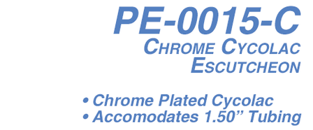 PE-0015-C Chrome Plated Cycolac