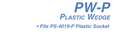 PW-P Plastic Wedge