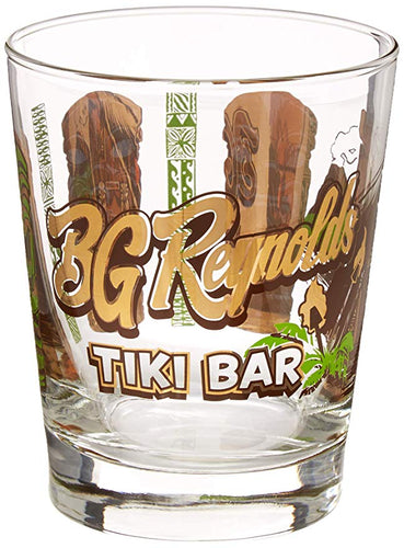 Tiki Bar Mai Tai Glass